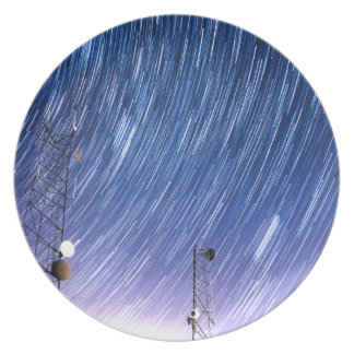 Cell Phone Tower Star Communications Dinner Plate