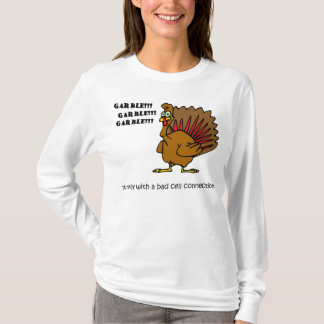 Cell Phone Turkey T-Shirt