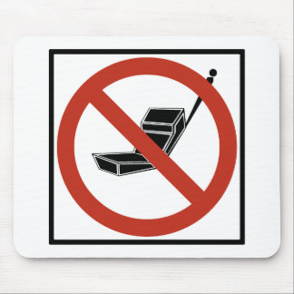 Cell Phone Use Prohibited Mouse Pads