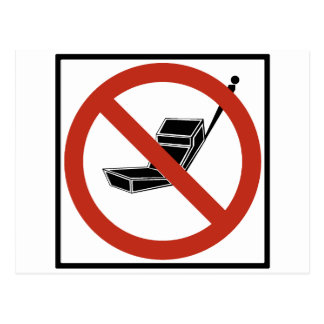 Cell Phone Use Prohibited Postcard