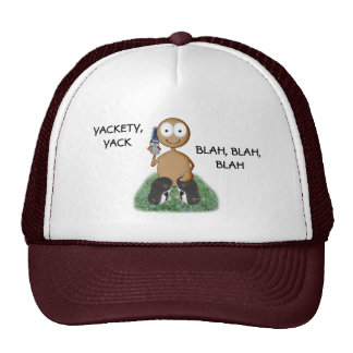 Cell Phone user I brown Hats