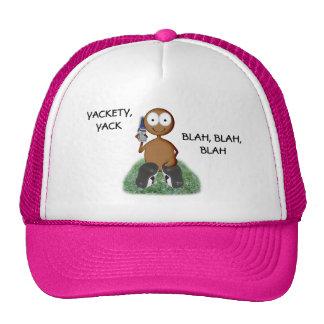 Cell Phone user I dark Trucker Hat