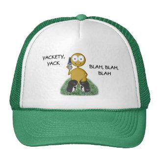 Cell Phone user III golden Trucker Hat