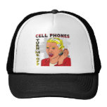 Cell Phones Turn Me Off Trucker Hats