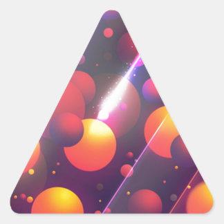 cell triangle sticker