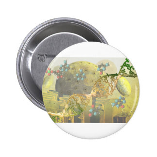 Cell with DNA Pinback Button