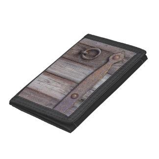 Cellar Door Handle Trifold Wallet