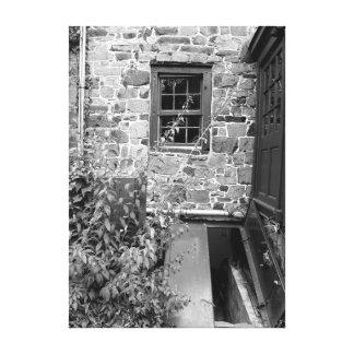 Cellar Door, Street Scene, New Hope, Pennsylvania Canvas Print