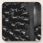 Cellar wines beverage coasters
