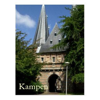 Cellebroederspoort, Kampen Postcard