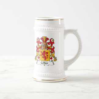 Cellier Family Crest Beer Stein