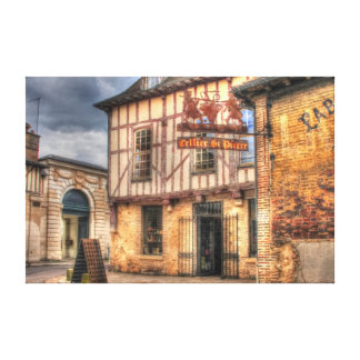 Cellier St. Pierre Troyes France Canvas Print