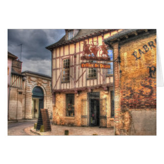 Cellier St. Pierre Troyes France Greeting Card