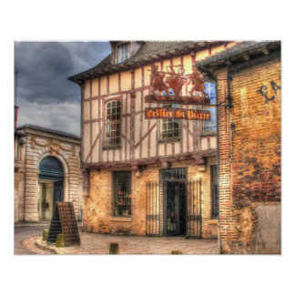 Cellier St Pierre Troyes Francia Póster