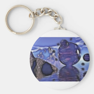 Cellion Alternative Basic Round Button Keychain