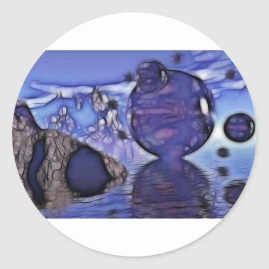 Cellion Alternative Classic Round Sticker