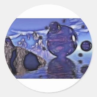 Cellion Alternative Round Stickers