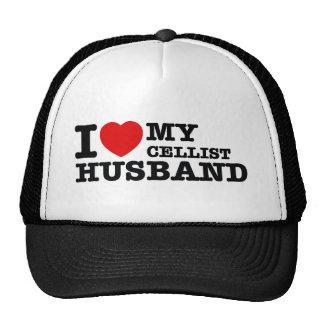 Cellist Husband Designs Trucker Hat
