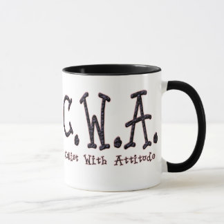 """Cellist With Attitude"" Mug"
