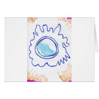 Cellmembrane modula tarjeta de felicitación