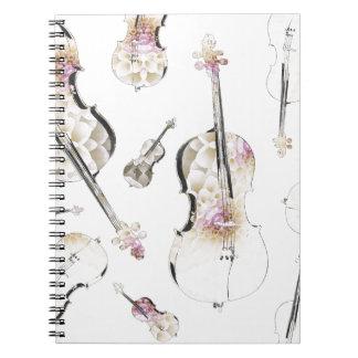 cello (10).jpg spiral notebook