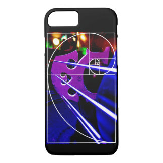 Cello and Fibonacci spiral iPhone 8/7 Case