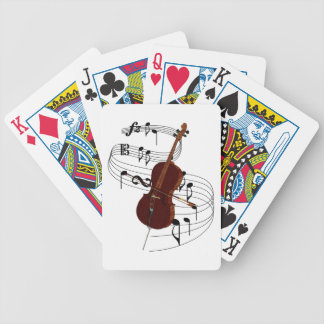 Cello Bicycle Playing Cards