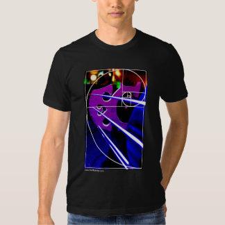 Cello bridge with Fibonacci spiral T Shirt