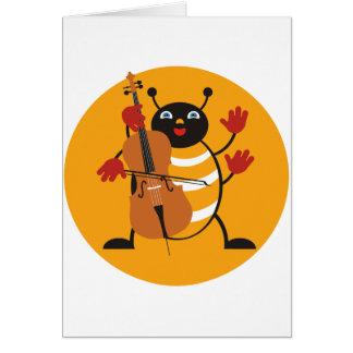Cello Bug Card