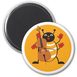 Cello Bug Magnet