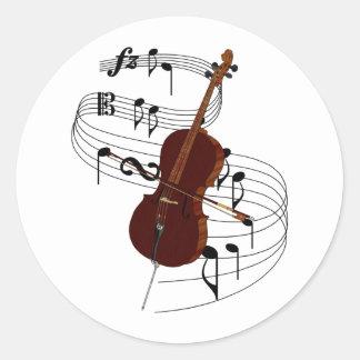 Cello Classic Round Sticker