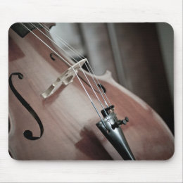 Cello classical music stringed instrument mouse pad