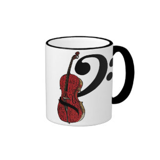Cello Clef Mug