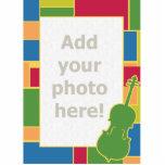 Cello Colorblocks Photo Sculpture