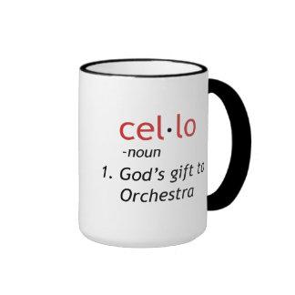 Cello Definition Coffee Mug