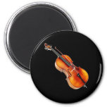 """Cello"" design gifts and products 2 Inch Round Magnet"