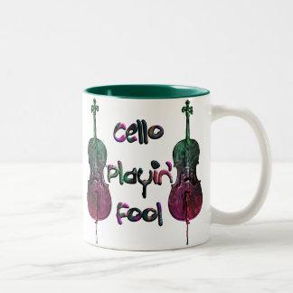 """""""Cello Fool"""" Mug"""