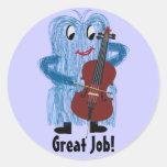 Cello - Get a Warm Fuzzy Feeling Sticker
