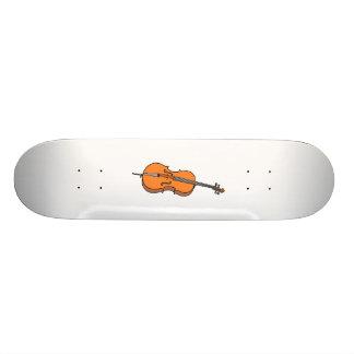 Cello Graphic , ViolinCello Music Design Skateboard