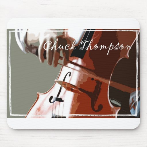 cello hand mouse pad