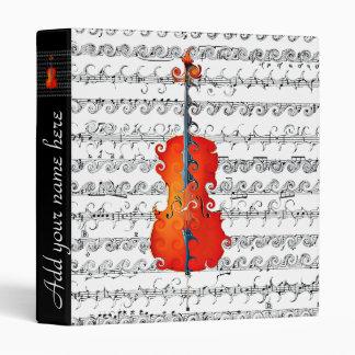 Cello & I Rock!_ 3 Ring Binder