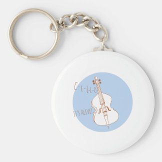 Cello Its Alive! Key Chains