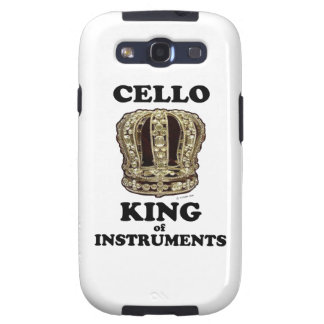 Cello King of Instruments Samsung Galaxy SIII Covers