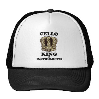 Cello King of Instruments Trucker Hat