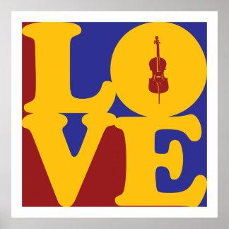 Cello Love Poster