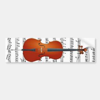 Cello & Me_ Car Bumper Sticker