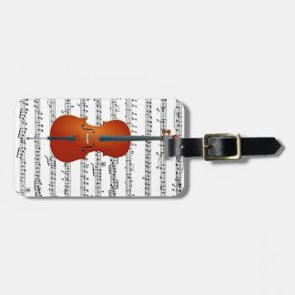 Cello & Me_Luggage Tag