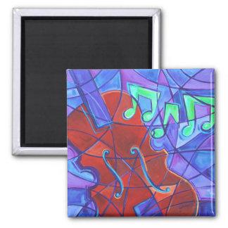 Cello Mosaic Magnet Fridge Magnet