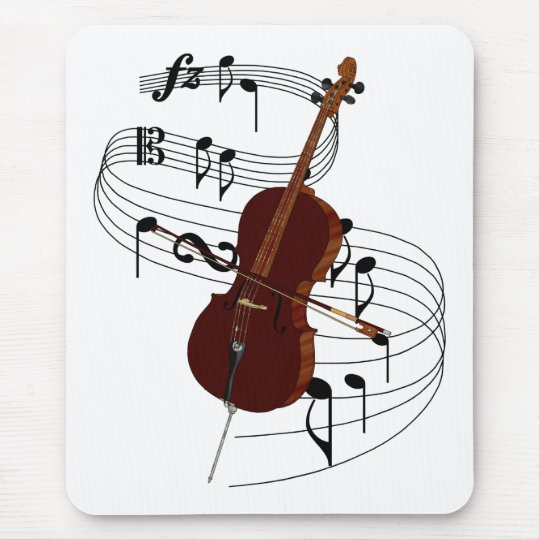 Cello Mouse Pad