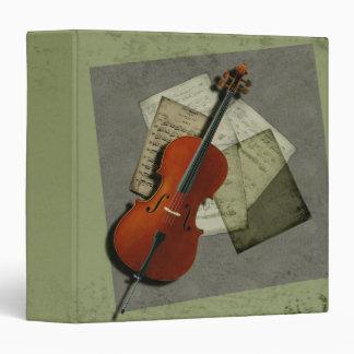 Cello Music Binder
